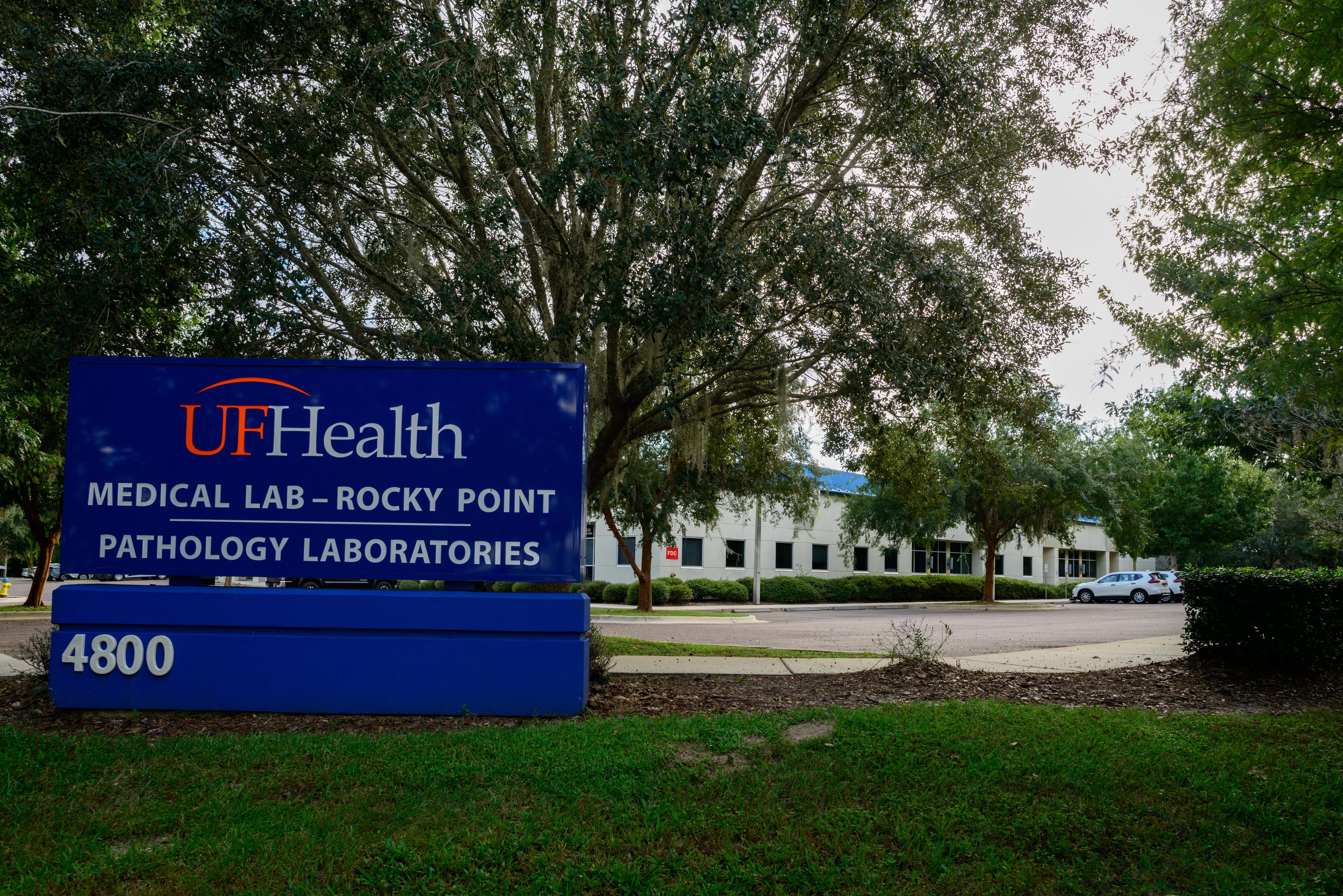 UF Health Pathology Lab